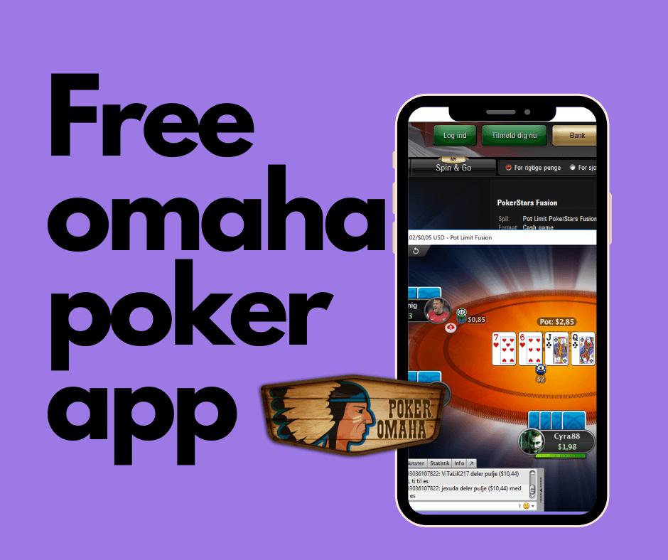 Free omaha poker app