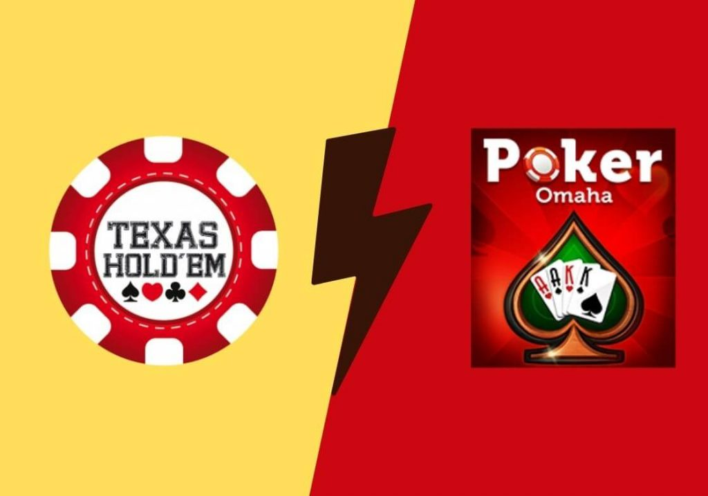 Omaha poker vs Texas Hold'em